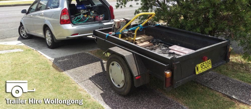 Hire Car Trailer Wollongong