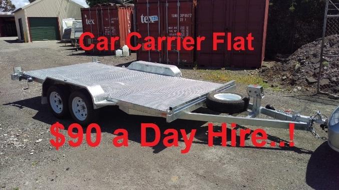 Cheap Car Trailer Hire